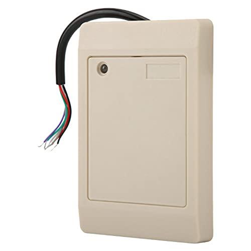Mothinessto Lector de Control de Acceso Lector de Tarjetas de Puerta de bajo Consumo de energía Lector de Tarjetas de identificación EM Lector de Tarjetas de identificación Anti-Metal Alto(ID)