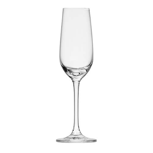Schott Zwiesel Tritan Crystal Glass Classico Stemware Collection Sherry Cocktail Spirits Glass, 4-Ounce, Set of 6 Crystal Glass Sherry Glass