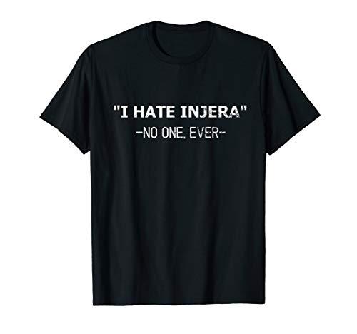 Lustiges Injera Brot Liebe Habesha Eritrea Äthiopien T-Shirt