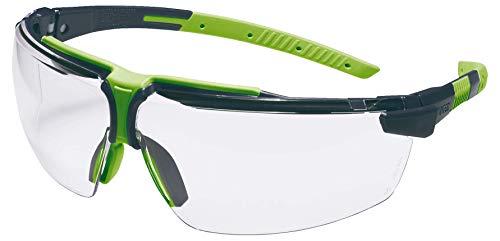 Uvex I-3 S Schutzbrille - Supravision Excellence - Transparent/Schwarz-Grün