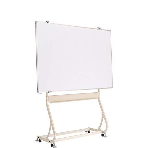 Ryyland-Home Tableau Blanc L'écriture Debout Chevalet Support Double Face magnétique Mobile Tableau Blanc Bureau d'aide pédagogique - 90x120cm 100x150cm 120x150cm Whiteboard Tableau Blanc Mobile