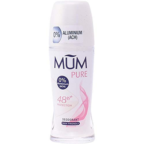 Mum Deo Roll-on Pure, 50 ml, 6er Pack (6 x 50 ml)