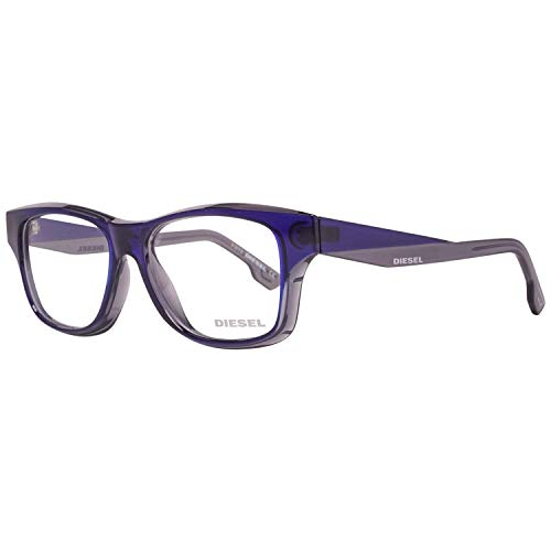 Diesel Brillengestelle DL5065 52096 Rechteckig Brillengestelle 52, Blau