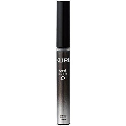 三菱鉛筆 シャープ芯 クルトガ 0.5 HB ブラック 10個 U05203HB.24