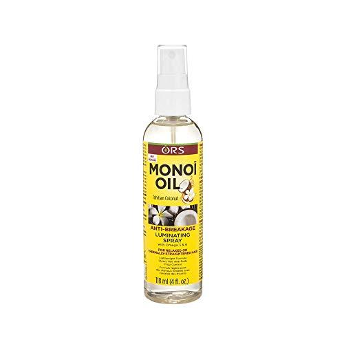 ORS Monoi Oil Anti Breakage Luminating Spray 4 Ounce (Pack of 1)