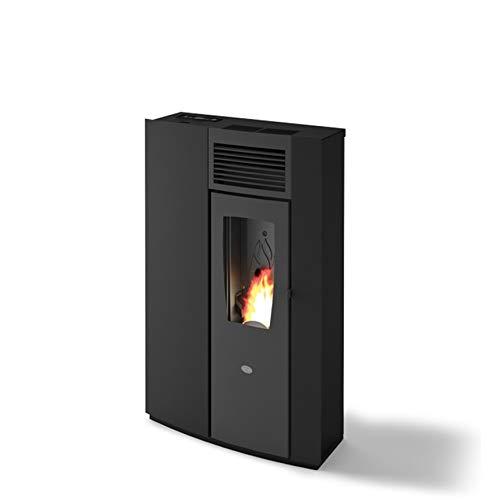 Pelletofen Slim Pearl Wärmeleistung 7,5 kW (ruby schwarz)