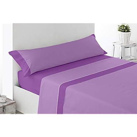 Cabetex Home Juego de sábanas Estampadas 3 Piezas
