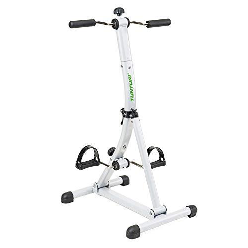 Tunturi Pedaltrainer, gleichzeitig für Arm und Bein, 2-in-1 Heimtrainer, Mini Bike, Verstellbarer Bewegungstrainer