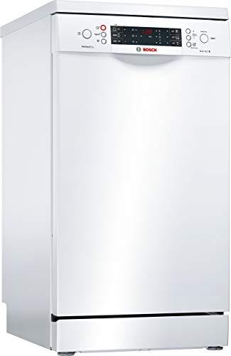 Bosch SPS66TW01E Geschirrspüler Freistehend / A+++ / 45 cm / 188 kWh/Jahr / 2660 L/jahr / Aqua Sensor / Active Water Hydrauliksystem / weiß