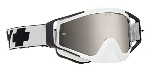 Spy SPMAOM12 Masque de VTT Mixte Adulte, Blanc