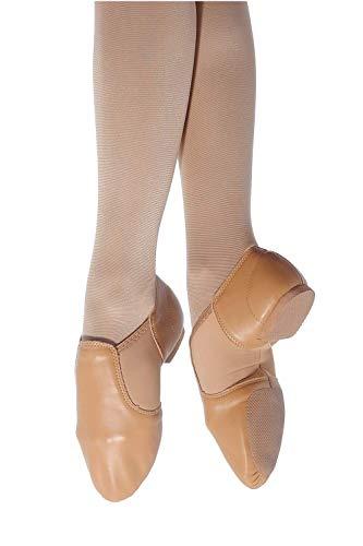 Roch Valley Neoprene Slip on Jazz shoes 5 Flesh