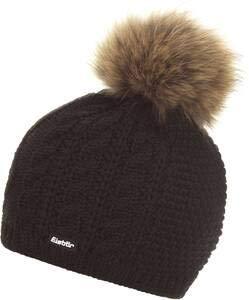 Eisbär Damen Bommelmütze Nelia schwarz (200) 000