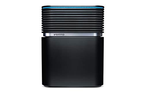 Venta Luftwäscher Aerostyle LW74 WiFi, Luftbefeuchtung und Luftreinigung (bis 10 µm Partikel) für Räume bis 90 qm, Signalschwarz, inkl. WiFi/WLAN-Modul