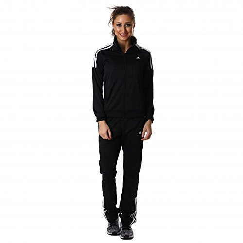 adidas Frieda Suit - Chándal para Mujer, Color Negro/Blanco, Talla S