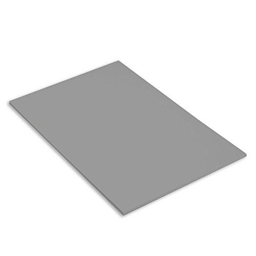 Canson Mi-Teintes Papel de Color de Pulpa Teñida, 160 g/m2, Gris (Flannel Grey - 122), A3, Pack de 25