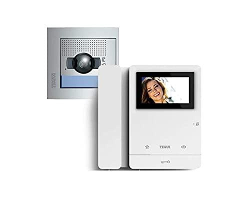 Kit Videoportero2 hilos Tegui Sfera New (2 viviendas) Serie 8 378112