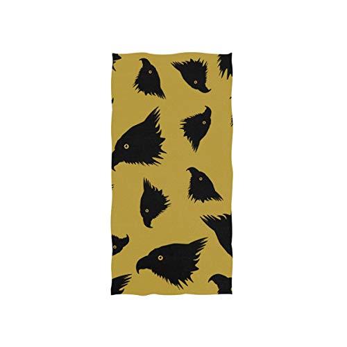 Eagle Colorful Double Wing Soft SPA Toalla de baño de Playa Toalla de Mano Toalla Toallita para bebé Baño para Adultos Ducha de Playa Envoltura Hotel Viajes Gimnasio Deporte 30 x 15 Pulgadas