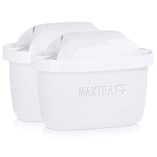 Brita pack de 2 cartouches maxtra+ pour carafes filtrantes