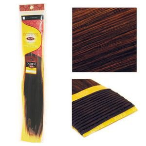 """Sensationnel Goddess Yaky Straight Remy Weaving for Hair Extensions 14"""" S1B/33"""