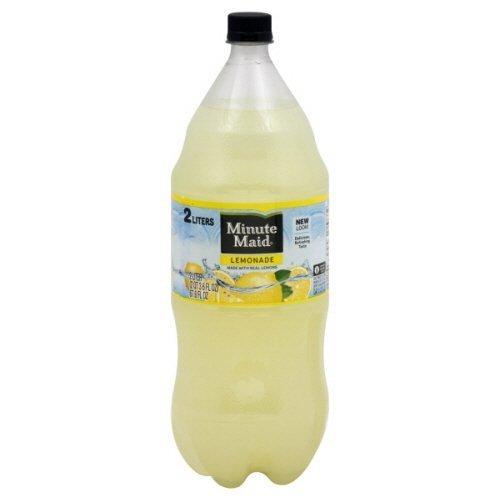 Minute Maid Lemonade 2-Liter Popular brand in the world Pack Bottle 6 of sale