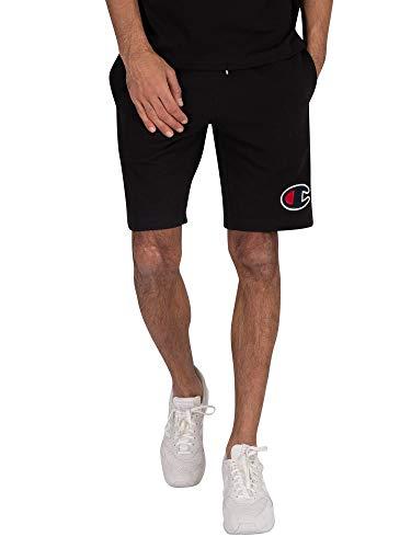 Champion Heren Zwembroek met logo, Zwart