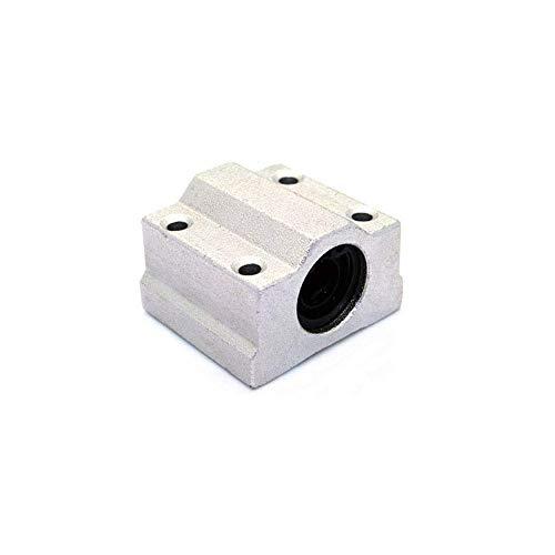 【nuovo di zecca】 Cuscinetto di scorrimento lineare con foro interno Piattaforma di scorrimento a scatola da 8 mm per promuovere la linea di cuscinetti a scorrimento Accessori per stampanti 3D