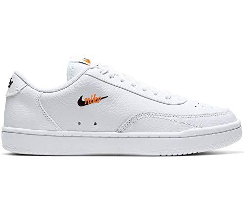 Nike WMNS Court Vintage PRM - White/Black-total orange, Größe:6
