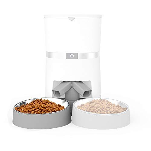 honeyguaridan Zweiweg-Splitter-Adapter für den automatischen Tierfutterautomat A36, Füttere Zwei Haustiere - nur Splitter