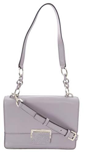 Michael Kors Sloan Handtasche mit Zwickel, Leder, klein, Lila, Violett - Flieder - Größe: Medium