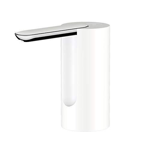Decdeal Bomba de Agua Plegable,Bomba de Agua Potable Universal,Bomba de Agua Eléctrica Portátil,Carga USB,Uso Doméstico