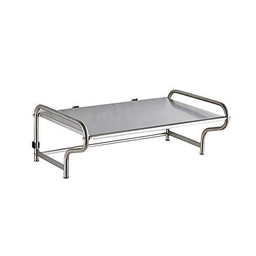 Rek - Keuken Wandmontage Roestvrij Staal Magnetron Oven Plank Wandplank Oven Beugel Opslag Rack, BGJ 53cm