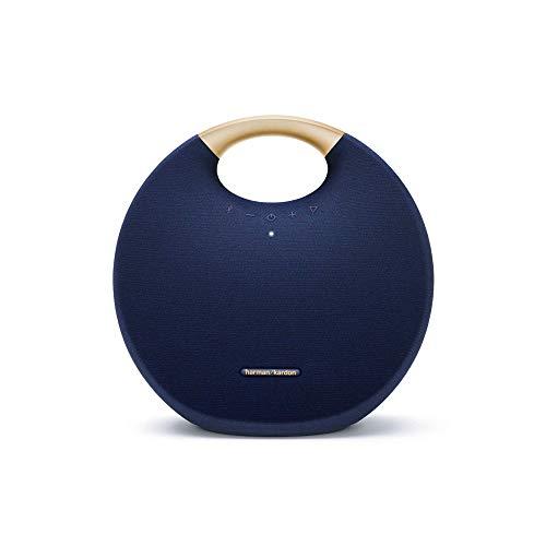 Harman Kardon Onyx Studio 6 Portable Wireless Speaker with IPX7 Waterproof (Blue)