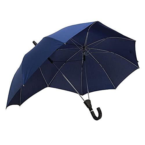 Nobranded Doppel Größe, Hohe Regenschirm Paar Regenschirme Zwei Person Regenschirm Neuheit Winddicht Extra Große 16 Rippen Sonnenschirm Geschenk für Liebhaber - Blau