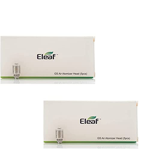 Resistenza ELEAF GS di ricambio 1,5ohm (2 pacchetti di valore) Resistenza per GS Air, GS Air 2, iJust Start, iStick Basic sigaretta elettroniche Senza Nicotina con PEACEVAPE™ Vape Band