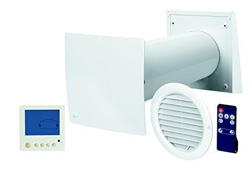 TwinFresh Easy Digital Wohnraumlüftung - mit Display-Bedieneinheit und Fernbedienung, inkl. keramischem Wärmetauscher