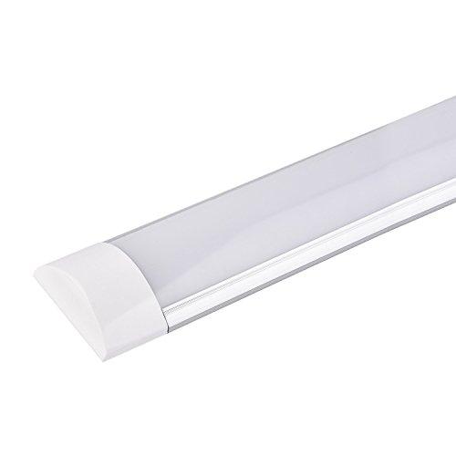 LED Streifen Licht, LED-Deckenleuchte 40W LED Nachtlicht 120cm SMD2835 LED Schrank Licht für Kabinett-Büro-und Handelsbeleuchtung