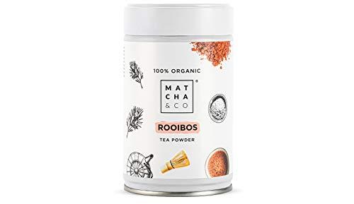 Té Rooibos [en polvo] 100% Ecológico 70g. Rooibos Orgánico. Té Rooibos 100% Natural. Matcha & CO