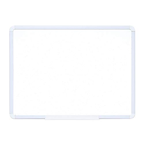 Office Depot Dry-Erase Board with Plastic Frame, 18' x 24', White
