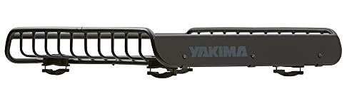 Yakima LoadWarrior picture reveals its gear hauling capability.
