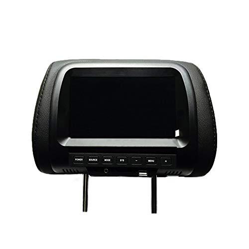 beiyoule - Monitor per auto con poggiatesta HD 720P, lettore DVD, monitor per poggiatesta retroilluminato a LED per giochi automatici digitali HD
