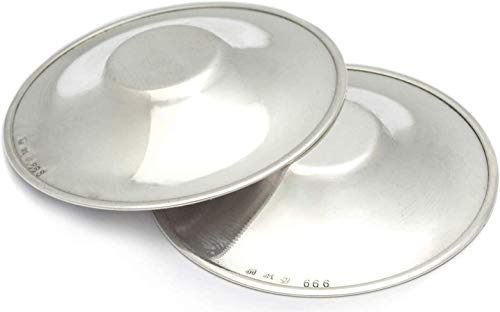 Paracapezzoli Coppette Copricapezzoli in argento puro 999 dispositivo medico classe A1diametro 4...