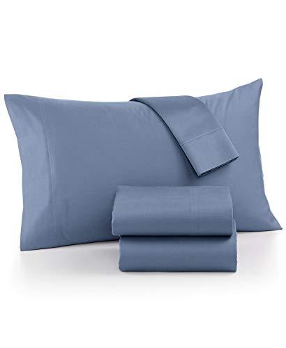 AQ Textiles Ultra Cool 700 Thread Count Cotton Blend 4 Piece King Sheet Set Blue
