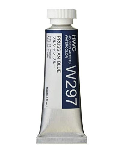 Holbein Artist's Watercolor 15ml Tube (Prussian Blue) W297