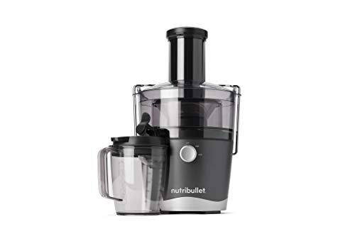 NutriBullet Juicer Centrifugal Juicer Machine for Fruit, Vegetables, and Food Prep, 27 Ounces/1.5 Liters, 800 Watts, Gray NBJ50100