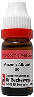 Dr.Reckeweg Germany Arsenicum Album 30 (11 ml) Homeopathic Medicine