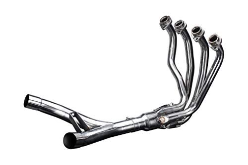 Delkevic Aftermarket Stainless Steel 4-2 Header compatible with Kawasaki Ninja 1000 (2011-2019) & Z1000 (2010-2016)