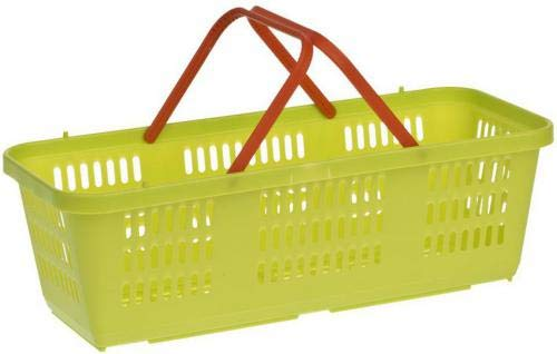 AGROHIT 5 Stück Spankorb Kunststoffkorb Korb Kunststoff Aufbewahrungskorb Behälter 3L