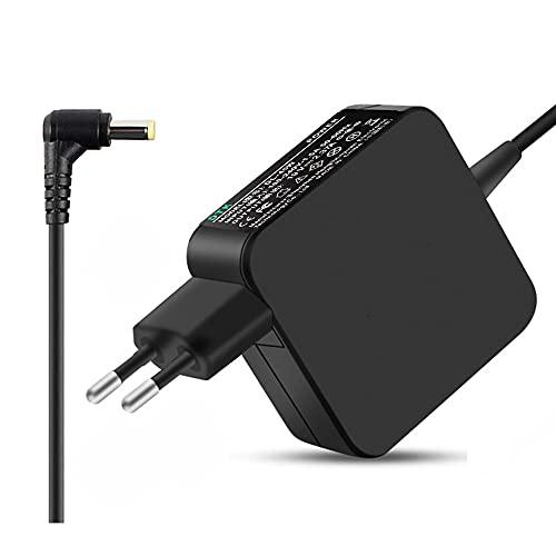 DTK Cargador para Portátil Adaptador de Corriente para PC Fuente de Alimentación para Acer Aspire Salida: 19V 2.37A 45W Tamaño del Conector del Cable de Alimentación: 5.5 x 1.7 mm