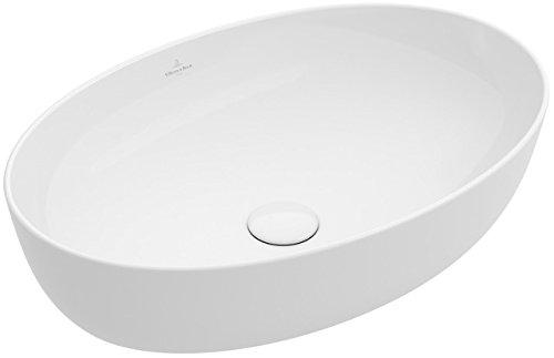 Villeroy&Boch Aufsatzwaschtisch Artis 4198 610x410mm o HLbank o ÜL Oval Stone White CeramicPlus