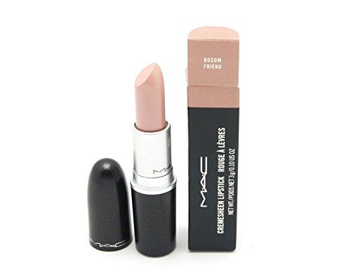 MAC Cremesheen Lipstick Bosom Friend, pretty nude, 0.1 Ounce